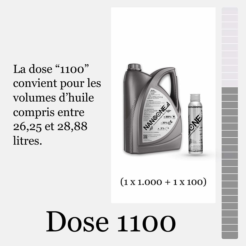 Dose 1100