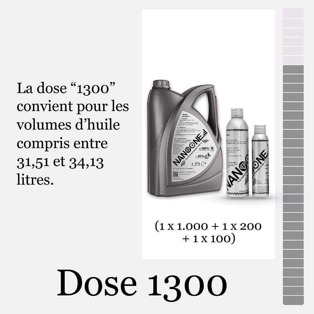 Dose 1300