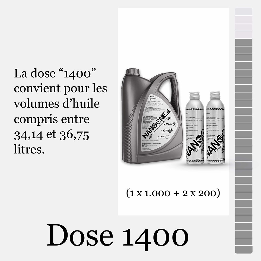 Dose 1400