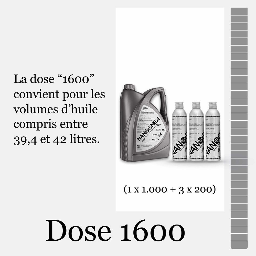 Dose 1600
